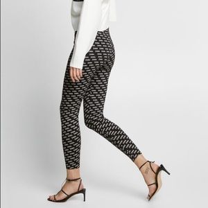 Zara logo leggings